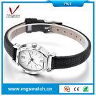 Fashion women lady watch quartz watch leather watch promotions