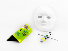 Funny DIY Watercolor Painting Party Face Mask Toy STP-248554