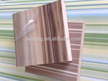 wood grain color high gloss uv mdf kitchen cabinet door panels