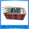 China new arrival rechargeable 18650 battery pack power 12Ah lithium battery for electric scooter CE 3S6P