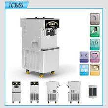 Automatic cleaning Frozen yogurt &ice cream machine (396S)withe double control