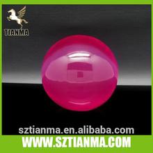 Plexiglass large ball with flower inside