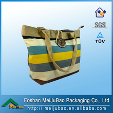 made in china jute bag with zipper