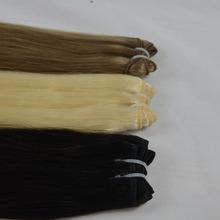 Premium 100% virgin hair double drawn weave weft