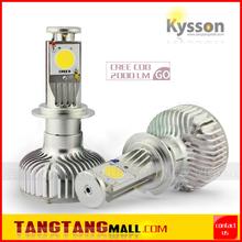 2014 New LED Headlight H4 H7 H8 H11 9005 9006 9004 9007 H16 40W 2000LM CREE-1512 and CREE-XBD Auto Led light