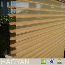 HY high performance elegant Shangri-la style zebra modern window curtain