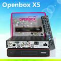 Original receptor de satélite openbox x5 actualización de firmware de apoyo pvr, wifi usb,