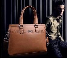 men fashion the PU leather bag brown bag handbag wholesale