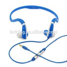 New product 2014 popular design custom wired sport headphones