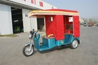 48V/800W Battery Operated motorcycle rickshaw for passenger made in China