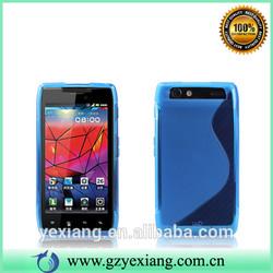 Good Quality Soft Skin TPU Cover Case For Motorola Droid Razr XT910 XT912