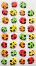 children cute puffy stickers