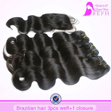 brazilian orange remy hair extensions virgin hair bundles with lace closure hair weaving closures