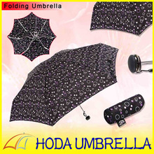 Newly Design Bubble 5 Folding Umbrella Anti UV Girl Choose with OEM Service