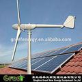 Caliente! El uso de casa solar mini generador de viento, solar de viento generador de energía 1kw, 2kw, 3kw