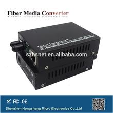10/100/1000MBase Single Mode Dual Fiber hot offer media converter