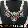 hot sale fashion design famous flower necklace