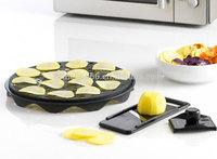 Plastic potato chips maker / Manual food slicer As seen on TV