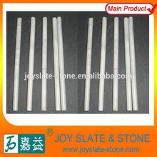 bianco naturale pietra ollare round gesso