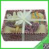 Professional Natural basket gift set/soap set baby bath set