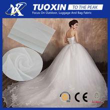 pure white silk organza for bridal dress/ wedding dress organza fabric
