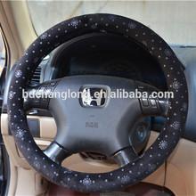 Fur Snowflake Steering Wheel Cover in 2014