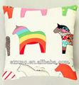 Caldo vendita colorati animale immagine cavallo design per soggiorno decorare cuscino, dormire cuscino
