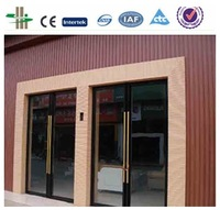 eco-wood plastic decorative outdoor synthetic outdoor wpc wall panel