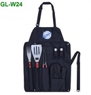 wood handle bbq set bbq tools set -W24