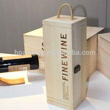 wooden wine carrier HDW826