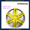 silver and yellow abs / pp / nylon wheel covers 13 inch 14 inch