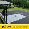 PP interlocking modular plastic floor tiles for sport