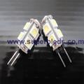 G4 1.8 W 6500 K 5050 SMD 9LED jc G4 lâmpada halógena de 6 v 5 W
