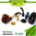 santé cigarette électronique vapeur pipes à tabac en bois