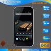 4.3nch AMOLED Screen MTK6582 Quad Core RAM 1G ROM 4G Android Mobile Phones No Camera