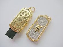 Bulk 8GB Pirate Logo Jewelry Usb Flash Drive