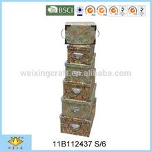 Creative Pattern Decorative Cardboard Storage Box