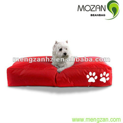 Waterproof fabric pet cool bed memory foam pet bed