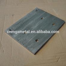 personalizzati di alta qualità tagliato a laser in acciaio inox base di peso