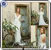 TT0157 Open diamond back lace long sleeve corset wedding dress with lace bolero jacket