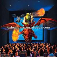 Hydraulic/Electric System 5d Simulator 7d Interactive Cinema XD Movie Equipment Game Machine