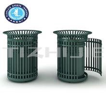 Residential Community High Quality Cast Iron Outdoor Trash Bin,Hot Sale Cheap Outdoor Dust Bin for Park,Outdoor Steel Dustbin