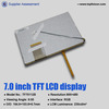 2014 Hot selling 7.0inches lcd tft display for auto device TF70112B
