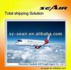 air cargo services china to colombia from Shenzhen/Guangzhou/Dongguan/Foshan to Europe