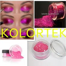 Glitter glue eye shadow, KOLORTEK glitter powders for nail polish, eyeshadows, lipsticks