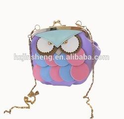 ladies fashion design owl sling bag for wholesale