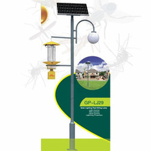 No danger to people pest bug insect fly killer Solar Insecticidal Lighting no harm to the atmosphere