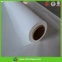 eco solvent front printing backlit substrate pet film for digital printing