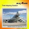 fast air shipping china to canada from Shenzhen/Guangzhou/Dongguan/Foshan to Europe