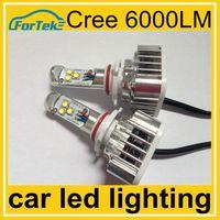 Higher lumen&cheaper price car led lighting 30w 6000lm cree led car headlight 9005